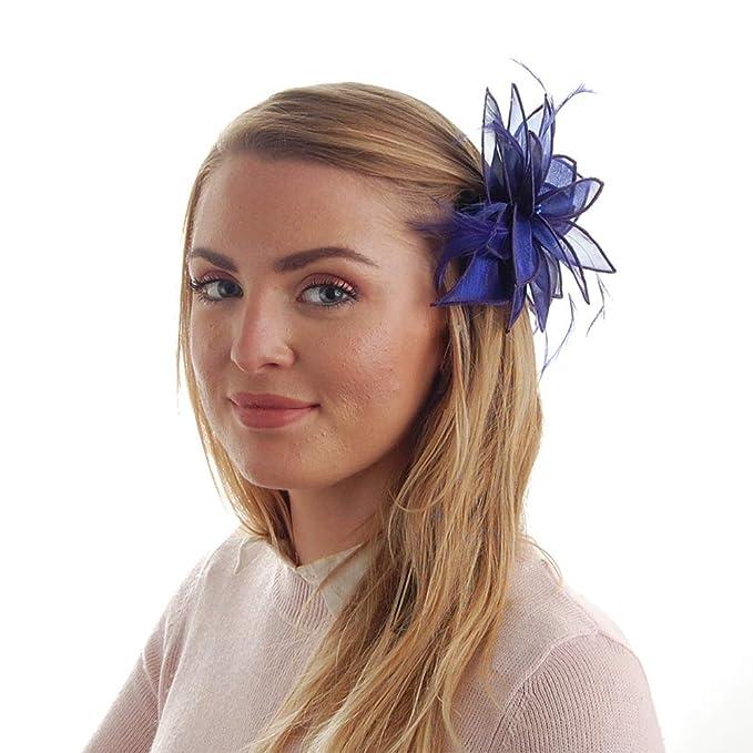 Failsworth Hats Organza Clip-On Lily Fascinator Lilac