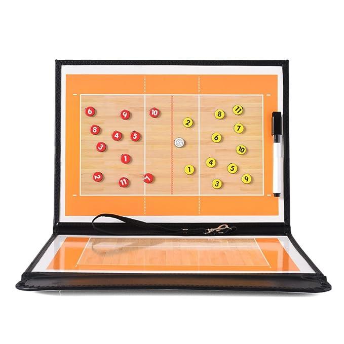 Amazon.com: FantasyDay voleibol Coach magnético portapapeles ...