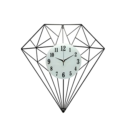 Amazon Com Friendship Shop Wall Clock Large Decorative Diamond
