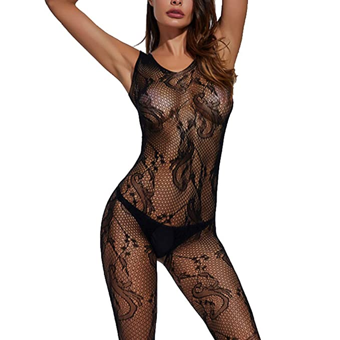 d335d3419 Lialbert Women s Sexy Sissy Lingerie Lace Babydoll.G-String Thong Underwear  Nightwear Black  Amazon.co.uk  Clothing