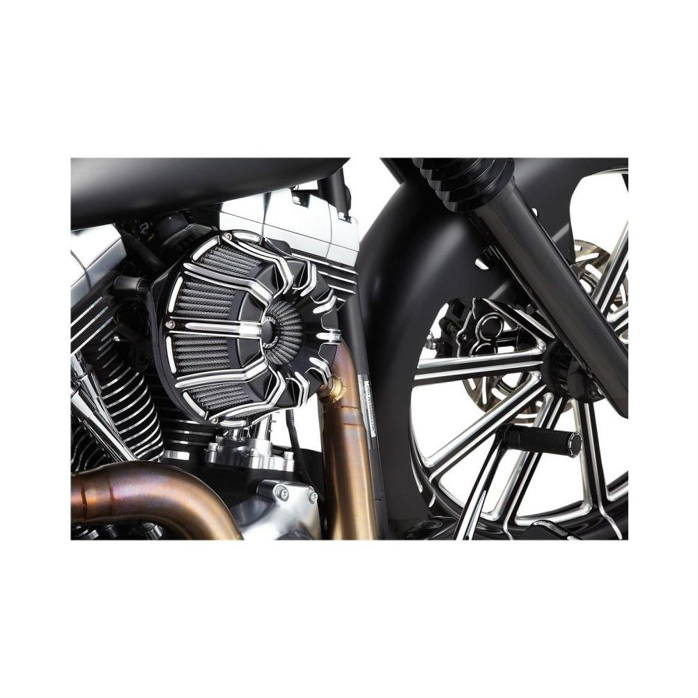 Arlen Ness 18-943 Black Inverted Series Air Cleaner Kit