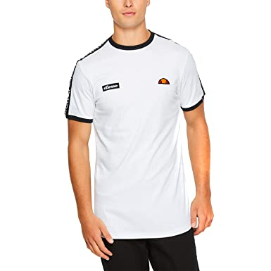 abbf44c420 ellesse Fede T-Shirt White: Amazon.co.uk: Sports & Outdoors