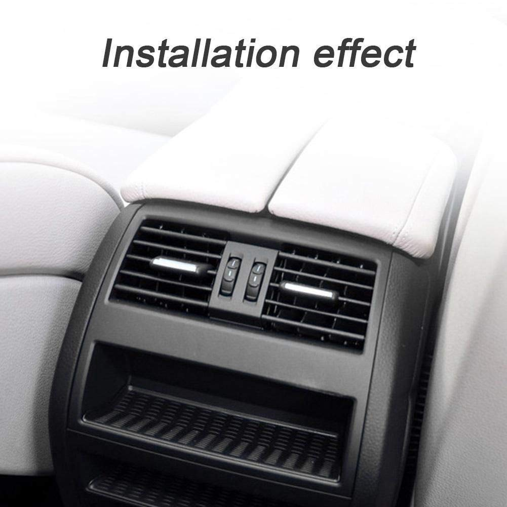 TOOGOO Auto Auto Hinten Mittel Konsole Frisch Luft Auslass L/üftung Gitter Abdeckung F/ür BMW 5 F18 Xdrive