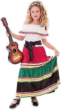 Disfraz de Mariachi Mexicana para niña: Amazon.es: Juguetes y ...