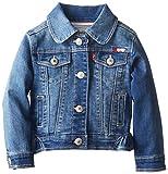 Levi's Baby Girls' Dianna Denim Jacket, Iced Blue, 12 Months
