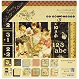 Graphic 45 ABC Primer-Deluxe Collectors Edition