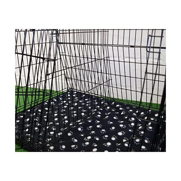 """Pet World UK 38"""" SLOPING CAR DOG CAGE ESTATE CAGES TRAVEL 4x4 BOOT CRATE PUPPY GUARD EST38LL 3"""