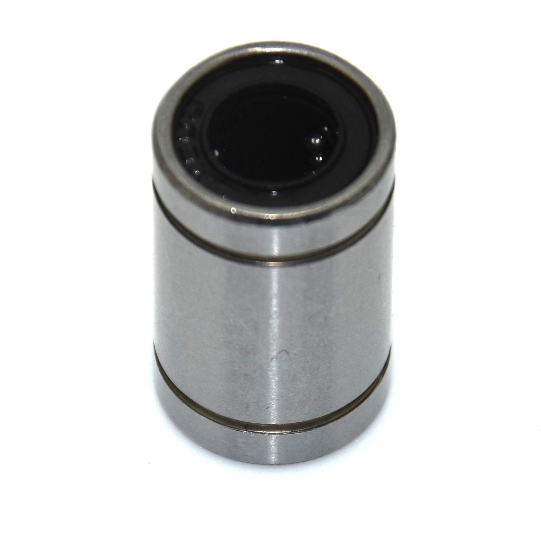 CNC Linear Motion Bearing 2PCS 8mm Inner Diameter SC8UU Linear Motion Ball Bearing Bushing for 3D Printer