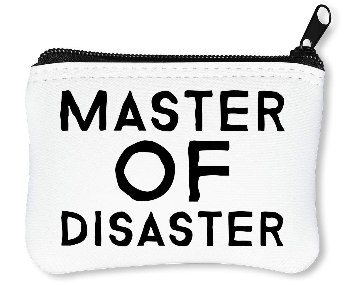 Master of Disaster Billetera con Cremallera Monedero ...