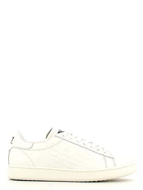 Ea7 emporio armani 278049 CC299 Zapatos Hombre Blanco 38 JsBSPR