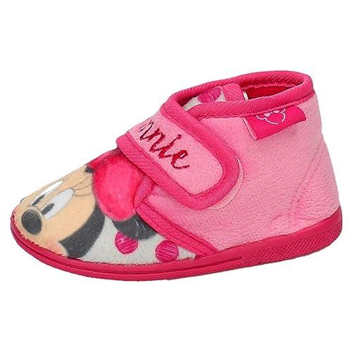DISNEY 2300002690 Botitas DE Minnie NIÑA Zapatillas CASA: Amazon.es: Zapatos y complementos