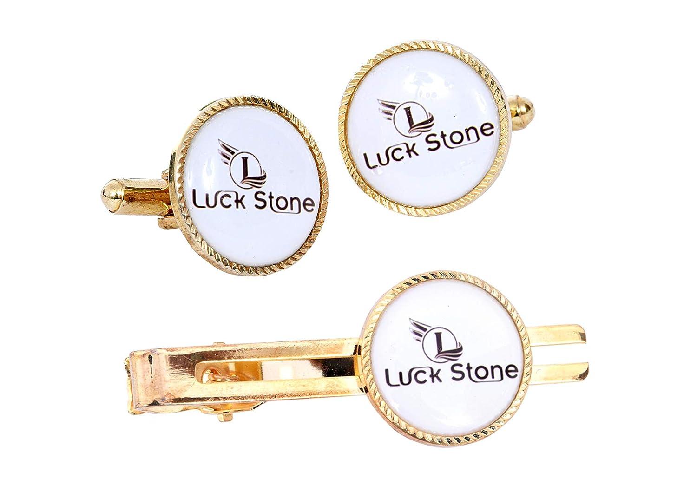 Luck Stone Juego de alfileres de Corbata para Hombre con diseño de ...