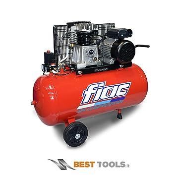 Compressore aria 100 lt FIAC AB 100/360 T: Amazon.es: Deportes y aire libre