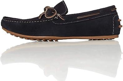 Marca Amazon - find. Mocasines de Ante estilo Naútico para Hombre: Amazon.es: Zapatos y complementos