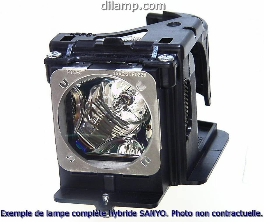 Projector Lamp Assembly with Genuine Original Ushio Bulb inside. PLC-XF1000 Sanyo Projector Lamp Replacement