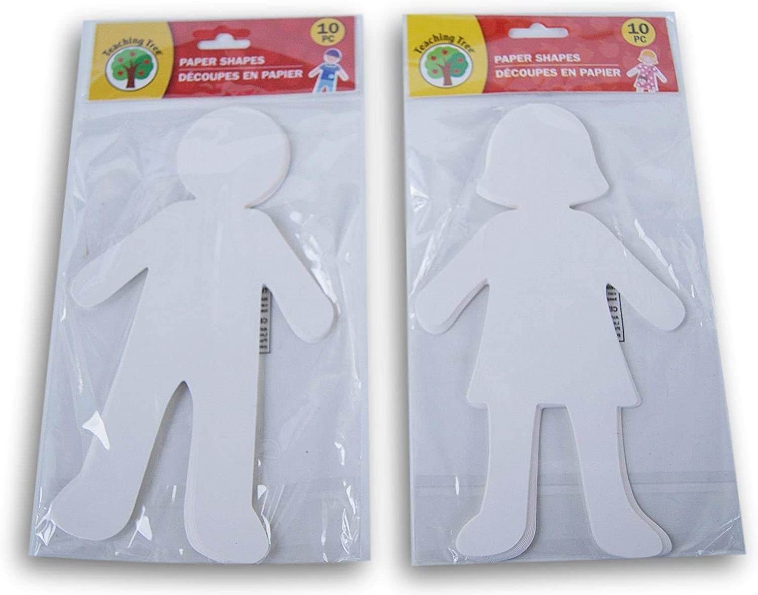Teaching Tree Paper People Shapes 20 Count