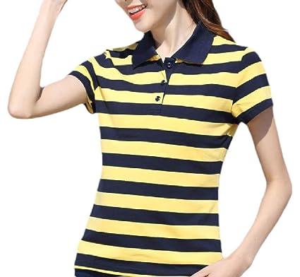 Camiseta Polo de Manga Corta para Mujer, de Seguridad, de Verano ...