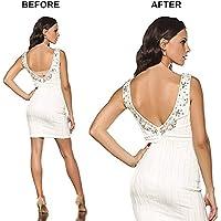 Bel Sütyen Askısı Low Back Bra Strap Sırt Dekolteli Abiye Elbise İçin Ayarlanabilir Sütyen İpi Askı