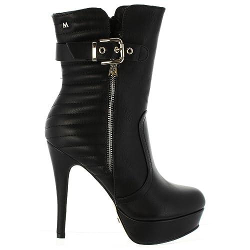 MARIA MARE Botas de Mujer 61018 C20452 NAPAL NEGRO Talla 41: Amazon.es: Zapatos y complementos