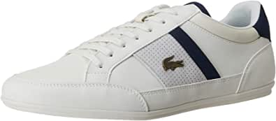 Lacoste Chaymon 120 4 CMA Men's Sneakers, Off White/Navy