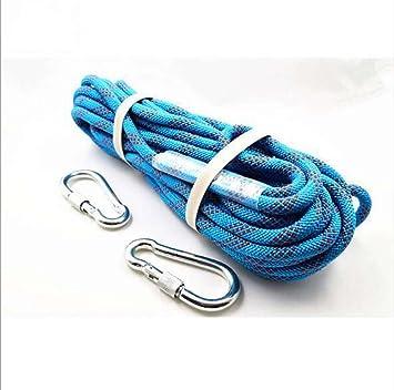 Nlne Blaues Seil 12Mm Durchmesser 30M 50M 80M Outdoor Wandern ...