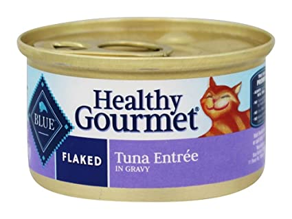 Amazoncom Blue Buffalo Flaked Cat Food Tuna 3 Oz 1 Can Pet