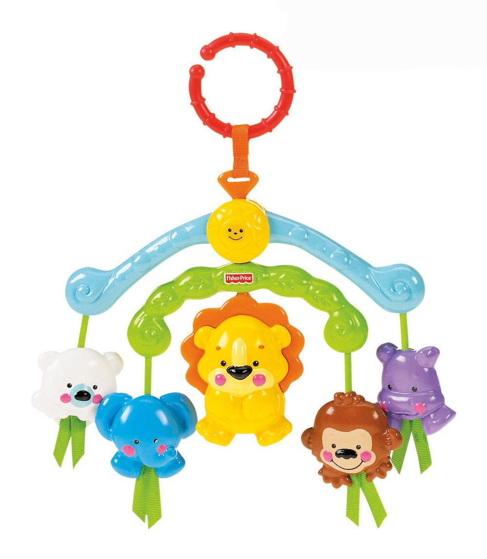 Fisher Price Móvil de paseo Planeta Feliz juguete para bebés Mattel R