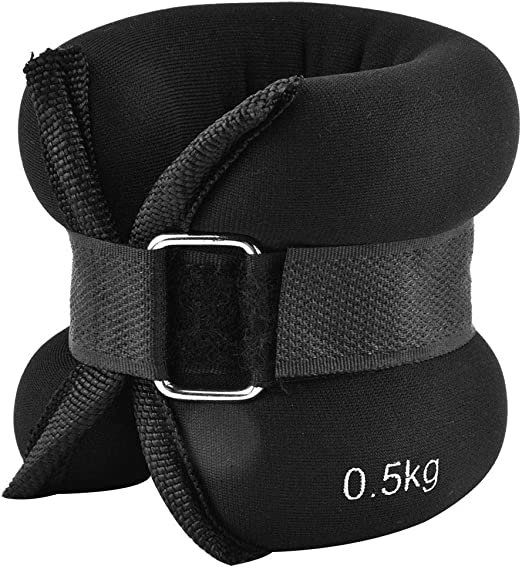 Adjustable Ankle Wrist Weights Sand Bag Gym Exercise Supplies for Men Women MP