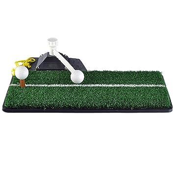 Pgm Tapis De Golf Golf Swing Tapis De Pratique En Caoutchouc Avec