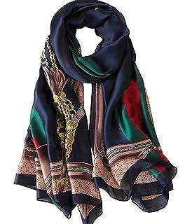 Fashion Women Elegant Floral Organza Long Wrap Scarf Shawl Scarves Lady Gift FI