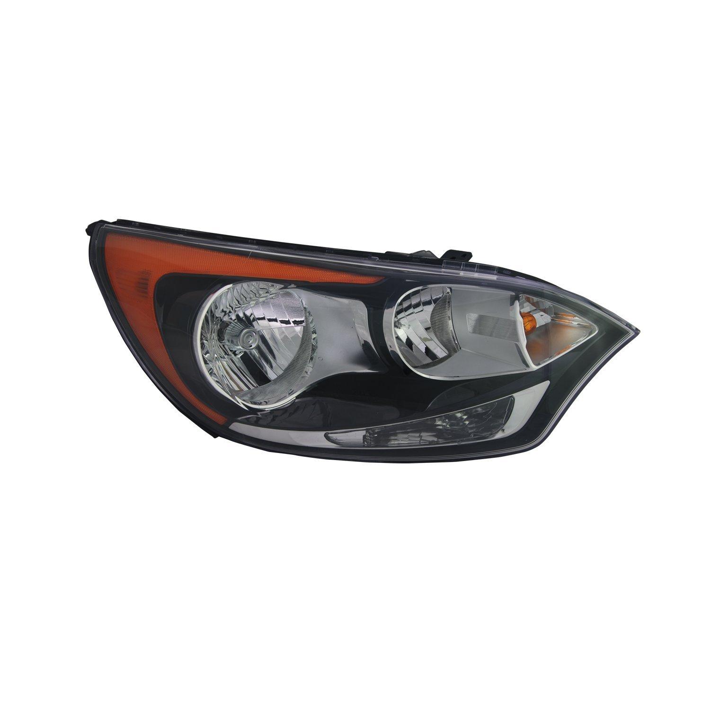 TYC 20-9230-00-1 Kia Rio Left Replacement Head Lamp