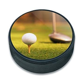 ice hockey puck golf golfing golfer golf ball club golfing amazon