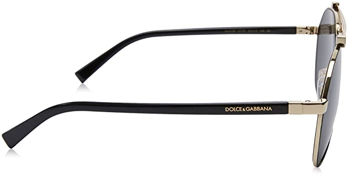86fcc0b241b8 Amazon.com  Dolce   Gabbana 0DG2189-01 87- MATTE BLACK PALE GOLD 61mm mens   Clothing