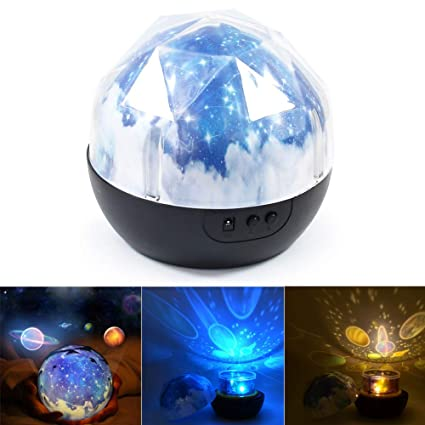 Amazon.com: Proyector de luz nocturna – BESTGIFT LED Magic ...