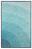 Company C Infinity Synthetic Accent Rug, 8' x 10' Area, Blue