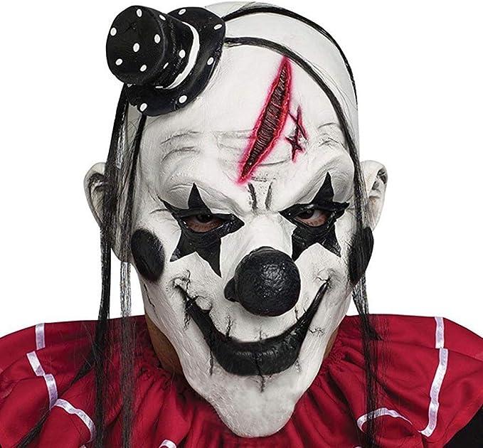 Amazon.com: Lovetotoro Halloween Escenario Devil Clown Smiln ...