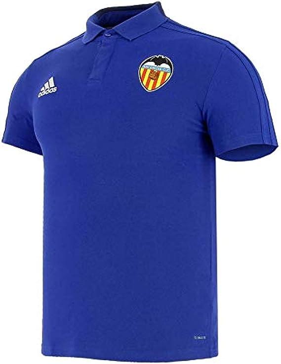 adidas Valencia CF 2018-2019, Polo, Bold Blue-Dark Blue-White ...