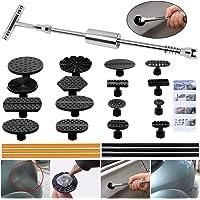 $29 » ARISD Paintless Dent Repair Puller Kit - Dent Puller Slide Hammer T-Bar Tool with 16pcs Dent…