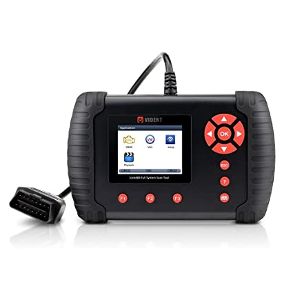 VIDENT iLINK400 Multi-System Scan Tool for Toyota/Lexus Automotive Full  System Code Reader for OBDII ABS, SRS, Engine, Transmission etc with  Service