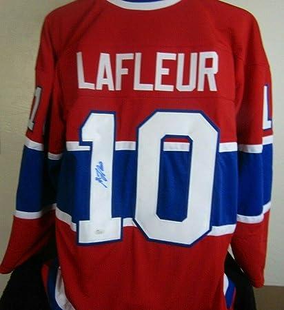 huge sale f1abf d8f13 Guy Lafleur Autographed Signed Memorabilia Hockey Jersey JSA ...