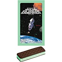 LuvyDuvy Freeze-Dried Mint Chocolate Chip Ice Cream Sandwich - 1 Pack