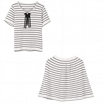 Thumby Costura de la Versión Coreana del Suéter de Falda (Manga ...