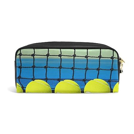 Amazon.com: Abbylife Student Pencil Case Tennis Ball School ...