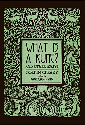(What is a Rune? & Other Essays)