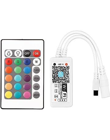 Lemonbest controlador inteligente WiFi para tiras LED RGB 5050 3528 5 - 28 V, trabaja