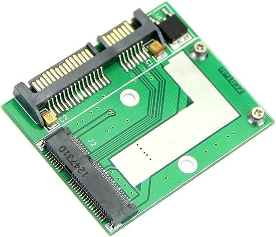 Mini PCI-E media altura pines mSATA SSD HeroNeo® a 7 mm de disco ...