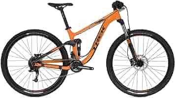 Trek FUEL EX 5 - Bicicleta de montaña, color naranja: Amazon.es ...