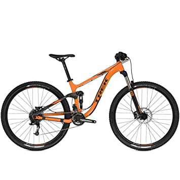Trek FUEL EX 5 - Bicicleta de montaña, color naranja: Amazon.es ...