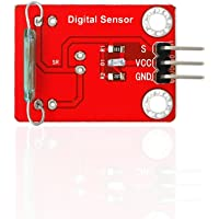 Hidream Keyes Reed Switch Sensor Module With Soldering Pad-hole 3.3V-5V For Arduino