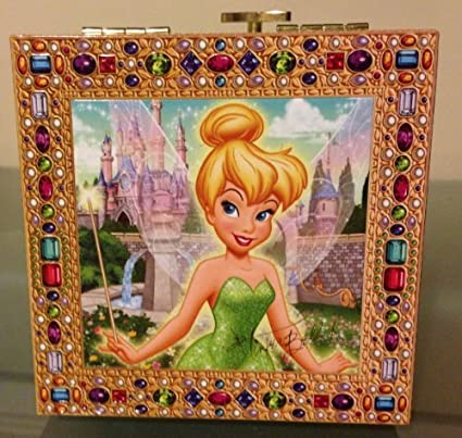 Amazon.com: Disney Parks Exclusive Tinkerbell Musical Jewelry Box ...
